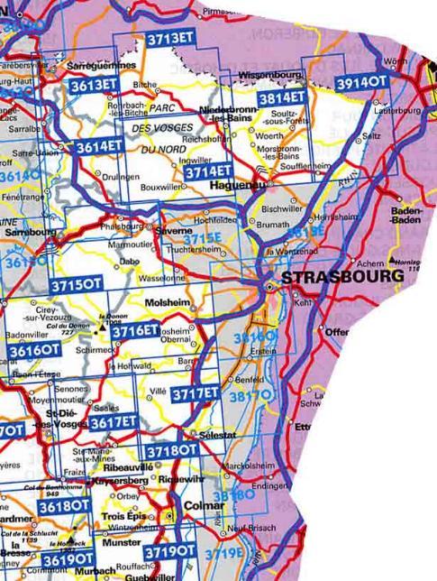 Carte Geographique Alsace Bas Rhin.Carte Bas Rhin Carte Routiere Bas Rhin Carte Cd Rom Dvd