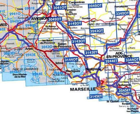 Info carte michelin bouche du rhone for Info regionale bouche du rhone