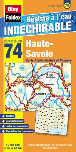 Carte haute savoie carte routi re haute savoie cd rom for 74 haute savoie carte