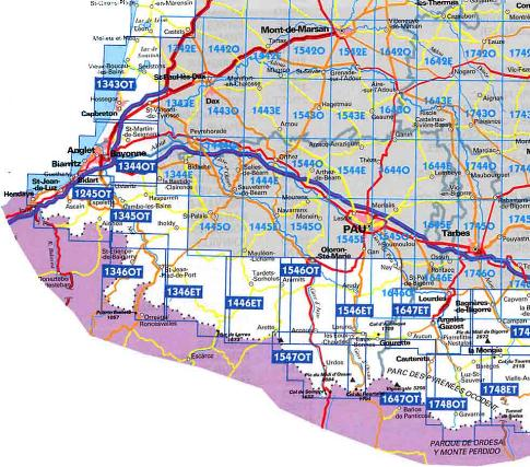 Carte De Randonnee Pyrenees Atlantiques Ign Carte Topo Guide Pyrenees Atlantiques